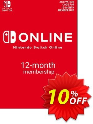 Nintendo Switch Online 12 Month (365 Day) Membership Switch (US) discount coupon Nintendo Switch Online 12 Month (365 Day) Membership Switch (US) Deal - Nintendo Switch Online 12 Month (365 Day) Membership Switch (US) Exclusive offer for iVoicesoft