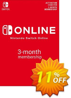 Nintendo Switch Online 3 Month (90 Day) Membership Switch (EU) discount coupon Nintendo Switch Online 3 Month (90 Day) Membership Switch (EU) Deal - Nintendo Switch Online 3 Month (90 Day) Membership Switch (EU) Exclusive offer for iVoicesoft