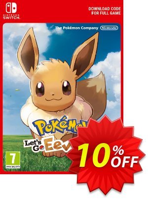 Pokemon Let's Go! Eevee Switch discount coupon Pokemon Let's Go! Eevee Switch Deal - Pokemon Let's Go! Eevee Switch Exclusive offer for iVoicesoft