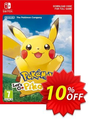 Pokemon Let's Go! Pikachu Switch Coupon, discount Pokemon Let's Go! Pikachu Switch Deal. Promotion: Pokemon Let's Go! Pikachu Switch Exclusive offer for iVoicesoft