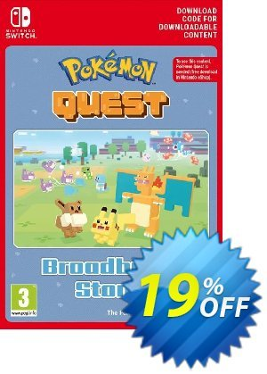 Pokemon Quest - Broadburst Stone Switch Coupon discount Pokemon Quest - Broadburst Stone Switch Deal. Promotion: Pokemon Quest - Broadburst Stone Switch Exclusive offer for iVoicesoft