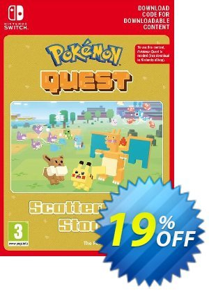 Pokemon Quest - Scattershot Stone Switch discount coupon Pokemon Quest - Scattershot Stone Switch Deal - Pokemon Quest - Scattershot Stone Switch Exclusive offer for iVoicesoft