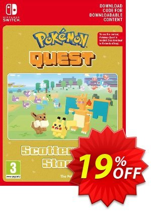 Pokemon Quest - Scattershot Stone Switch Coupon discount Pokemon Quest - Scattershot Stone Switch Deal. Promotion: Pokemon Quest - Scattershot Stone Switch Exclusive offer for iVoicesoft