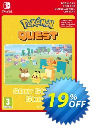 Pokemon Quest - Stay Strong Stone Switch discount coupon Pokemon Quest - Stay Strong Stone Switch Deal - Pokemon Quest - Stay Strong Stone Switch Exclusive offer for iVoicesoft