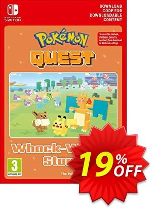 Pokemon Quest - Whack-Whack Stone Switch Coupon discount Pokemon Quest - Whack-Whack Stone Switch Deal - Pokemon Quest - Whack-Whack Stone Switch Exclusive offer for iVoicesoft