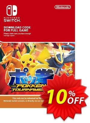 Pokken Tournament DX Switch discount coupon Pokken Tournament DX Switch Deal - Pokken Tournament DX Switch Exclusive offer for iVoicesoft