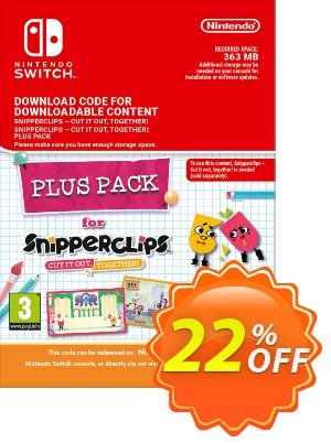 Snipperclips - Cut it out Together Plus Pack Switch discount coupon Snipperclips - Cut it out Together Plus Pack Switch Deal - Snipperclips - Cut it out Together Plus Pack Switch Exclusive offer for iVoicesoft