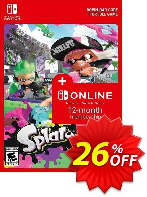 Splatoon 2 + 12 Month Membership Switch discount coupon Splatoon 2 + 12 Month Membership Switch Deal - Splatoon 2 + 12 Month Membership Switch Exclusive offer for iVoicesoft