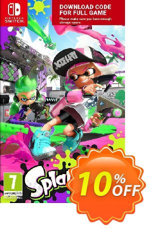 Splatoon 2 Switch 優惠券,折扣碼 Splatoon 2 Switch Deal,促銷代碼: Splatoon 2 Switch Exclusive offer for iVoicesoft