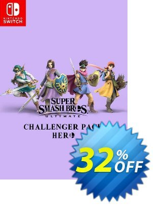 Super Smash Bros Ultimate - Hero Challenger Pack Switch Coupon, discount Super Smash Bros Ultimate - Hero Challenger Pack Switch Deal. Promotion: Super Smash Bros Ultimate - Hero Challenger Pack Switch Exclusive offer for iVoicesoft