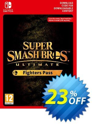 Super Smash Bros. Ultimate Fighter Pass Switch discount coupon Super Smash Bros. Ultimate Fighter Pass Switch Deal - Super Smash Bros. Ultimate Fighter Pass Switch Exclusive offer for iVoicesoft
