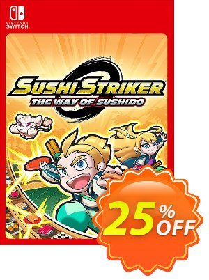 Sushi Striker: The Way of Sushido Switch discount coupon Sushi Striker: The Way of Sushido Switch Deal - Sushi Striker: The Way of Sushido Switch Exclusive offer for iVoicesoft