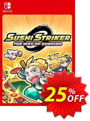 Sushi Striker: The Way of Sushido Switch Coupon discount Sushi Striker: The Way of Sushido Switch Deal - Sushi Striker: The Way of Sushido Switch Exclusive offer for iVoicesoft