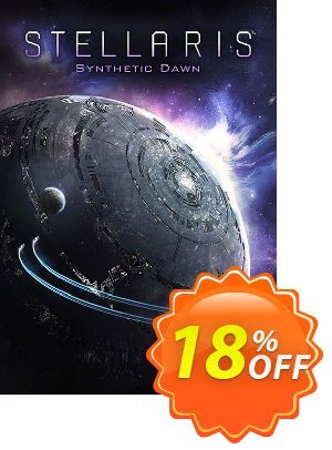Stellaris PC: Synthetic Dawn DLC discount coupon Stellaris PC: Synthetic Dawn DLC Deal - Stellaris PC: Synthetic Dawn DLC Exclusive offer for iVoicesoft