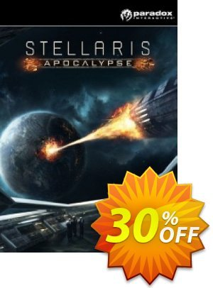 Stellaris: Apocalypse PC DLC 프로모션 코드 Stellaris: Apocalypse PC DLC Deal 프로모션: Stellaris: Apocalypse PC DLC Exclusive offer for iVoicesoft