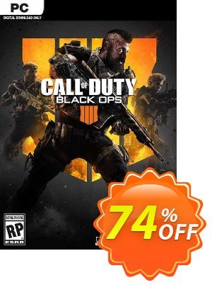 Call of Duty (COD) Black Ops 4 PC (MEA) Coupon, discount Call of Duty (COD) Black Ops 4 PC (MEA) Deal. Promotion: Call of Duty (COD) Black Ops 4 PC (MEA) Exclusive offer for iVoicesoft