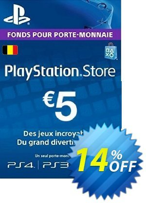 PlayStation Network (PSN) Card - 5 EUR (Belgium) discount coupon PlayStation Network (PSN) Card - 5 EUR (Belgium) Deal - PlayStation Network (PSN) Card - 5 EUR (Belgium) Exclusive offer for iVoicesoft