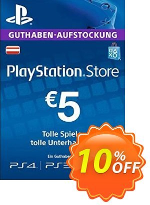 PlayStation Network (PSN) Card - 5 EUR (Germany) discount coupon PlayStation Network (PSN) Card - 5 EUR (Germany) Deal - PlayStation Network (PSN) Card - 5 EUR (Germany) Exclusive offer for iVoicesoft