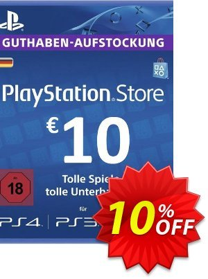 PlayStation Network (PSN) Card - 10 EUR (Germany) discount coupon PlayStation Network (PSN) Card - 10 EUR (Germany) Deal - PlayStation Network (PSN) Card - 10 EUR (Germany) Exclusive offer for iVoicesoft