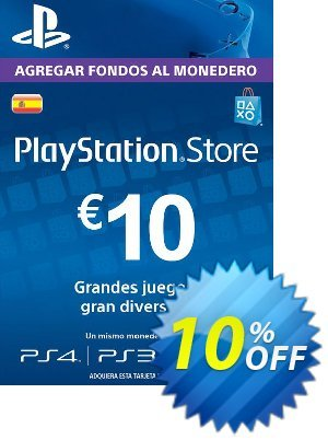 PlayStation Network (PSN) Card - 10 EUR (Spain) discount coupon PlayStation Network (PSN) Card - 10 EUR (Spain) Deal - PlayStation Network (PSN) Card - 10 EUR (Spain) Exclusive offer for iVoicesoft