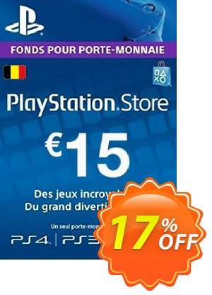 PlayStation Network (PSN) Card - 15 EUR (Belgium) discount coupon PlayStation Network (PSN) Card - 15 EUR (Belgium) Deal - PlayStation Network (PSN) Card - 15 EUR (Belgium) Exclusive offer for iVoicesoft