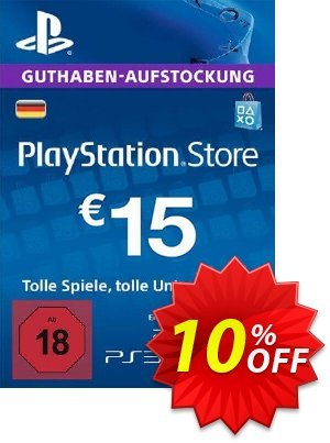 PlayStation Network (PSN) Card - 15 EUR (Germany) discount coupon PlayStation Network (PSN) Card - 15 EUR (Germany) Deal - PlayStation Network (PSN) Card - 15 EUR (Germany) Exclusive offer for iVoicesoft