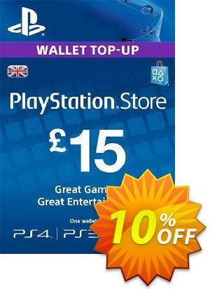 PlayStation Network Card - £15 (PS Vita/PS3/PS4) discount coupon PlayStation Network Card - £15 (PS Vita/PS3/PS4) Deal - PlayStation Network Card - £15 (PS Vita/PS3/PS4) Exclusive offer for iVoicesoft