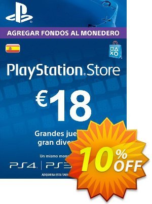 PlayStation Network (PSN) Card - 18 EUR (Spain) 프로모션 코드 PlayStation Network (PSN) Card - 18 EUR (Spain) Deal 프로모션: PlayStation Network (PSN) Card - 18 EUR (Spain) Exclusive offer for iVoicesoft
