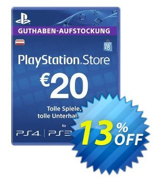 PlayStation Network (PSN) Card - 20 EUR (Austria) discount coupon PlayStation Network (PSN) Card - 20 EUR (Austria) Deal - PlayStation Network (PSN) Card - 20 EUR (Austria) Exclusive offer for iVoicesoft