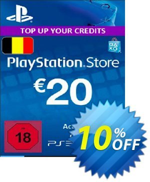 PlayStation Network (PSN) Card - 20 EUR (Belgium) Coupon discount PlayStation Network (PSN) Card - 20 EUR (Belgium) Deal. Promotion: PlayStation Network (PSN) Card - 20 EUR (Belgium) Exclusive offer for iVoicesoft