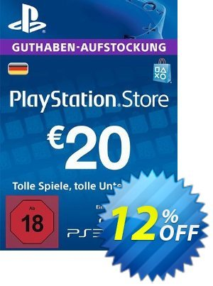 PlayStation Network (PSN) Card - 20 EUR (Germany) discount coupon PlayStation Network (PSN) Card - 20 EUR (Germany) Deal - PlayStation Network (PSN) Card - 20 EUR (Germany) Exclusive offer for iVoicesoft