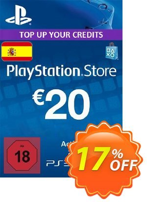 PlayStation Network (PSN) Card - 20 EUR (Spain) discount coupon PlayStation Network (PSN) Card - 20 EUR (Spain) Deal - PlayStation Network (PSN) Card - 20 EUR (Spain) Exclusive offer for iVoicesoft