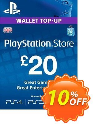 Playstation Network Card - £20 (PS Vita/PS3/PS4) discount coupon Playstation Network Card - £20 (PS Vita/PS3/PS4) Deal - Playstation Network Card - £20 (PS Vita/PS3/PS4) Exclusive offer for iVoicesoft