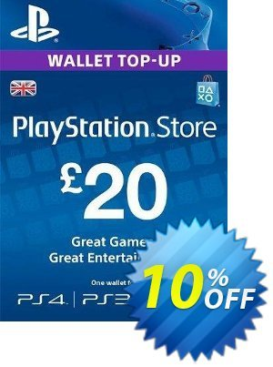 Playstation Network Card - £20 (PS Vita/PS3/PS4) 프로모션 코드 Playstation Network Card - £20 (PS Vita/PS3/PS4) Deal 프로모션: Playstation Network Card - £20 (PS Vita/PS3/PS4) Exclusive offer for iVoicesoft