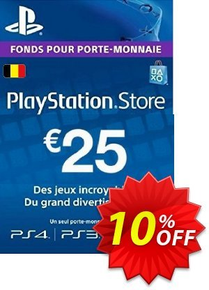 PlayStation Network (PSN) Card - 25 EUR (Belgium) discount coupon PlayStation Network (PSN) Card - 25 EUR (Belgium) Deal - PlayStation Network (PSN) Card - 25 EUR (Belgium) Exclusive offer for iVoicesoft