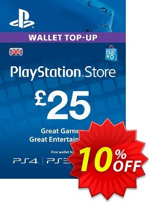 Playstation Network Card - £25 (PS Vita/PS3/PS4) discount coupon Playstation Network Card - £25 (PS Vita/PS3/PS4) Deal - Playstation Network Card - £25 (PS Vita/PS3/PS4) Exclusive offer for iVoicesoft