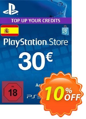 PlayStation Network (PSN) Card - 30 EUR (Spain) discount coupon PlayStation Network (PSN) Card - 30 EUR (Spain) Deal - PlayStation Network (PSN) Card - 30 EUR (Spain) Exclusive offer for iVoicesoft