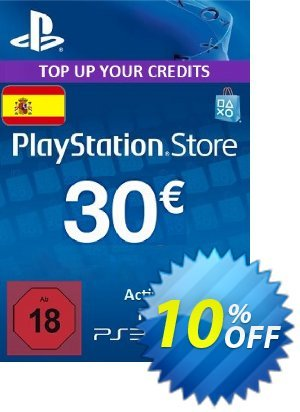 PlayStation Network (PSN) Card - 30 EUR (Spain) Coupon discount PlayStation Network (PSN) Card - 30 EUR (Spain) Deal. Promotion: PlayStation Network (PSN) Card - 30 EUR (Spain) Exclusive offer for iVoicesoft
