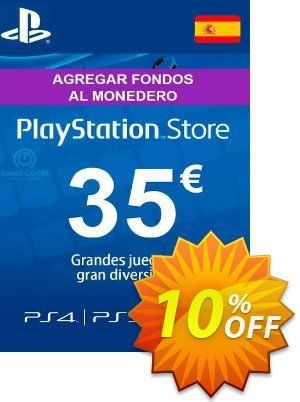 PlayStation Network (PSN) Card - 35 EUR (Spain) Coupon discount PlayStation Network (PSN) Card - 35 EUR (Spain) Deal - PlayStation Network (PSN) Card - 35 EUR (Spain) Exclusive offer for iVoicesoft