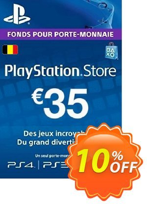 PlayStation Network (PSN) Card - 35 EUR (Belgium) discount coupon PlayStation Network (PSN) Card - 35 EUR (Belgium) Deal - PlayStation Network (PSN) Card - 35 EUR (Belgium) Exclusive offer for iVoicesoft