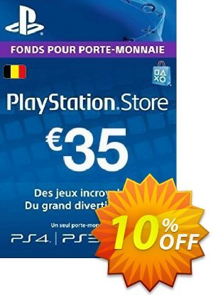 PlayStation Network (PSN) Card - 35 EUR (Belgium) Coupon discount PlayStation Network (PSN) Card - 35 EUR (Belgium) Deal - PlayStation Network (PSN) Card - 35 EUR (Belgium) Exclusive offer for iVoicesoft