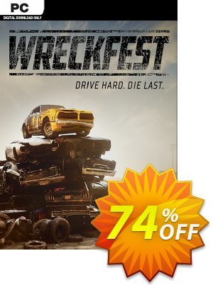 Wreckfest PC Coupon, discount Wreckfest PC Deal. Promotion: Wreckfest PC Exclusive offer for iVoicesoft