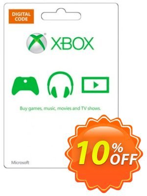 Microsoft Gift Card - $50 (Xbox One/360) discount coupon Microsoft Gift Card - $50 (Xbox One/360) Deal - Microsoft Gift Card - $50 (Xbox One/360) Exclusive offer for iVoicesoft