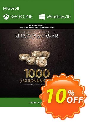 Middle-Earth: Shadow of War - 1050 Gold Xbox One Coupon discount Middle-Earth: Shadow of War - 1050 Gold Xbox One Deal - Middle-Earth: Shadow of War - 1050 Gold Xbox One Exclusive offer for iVoicesoft