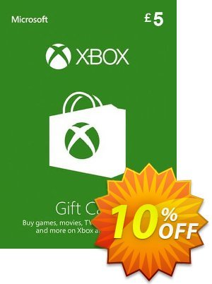 Microsoft Gift Card - £5 (Xbox One/360) Coupon discount Microsoft Gift Card - £5 (Xbox One/360) Deal - Microsoft Gift Card - £5 (Xbox One/360) Exclusive offer for iVoicesoft