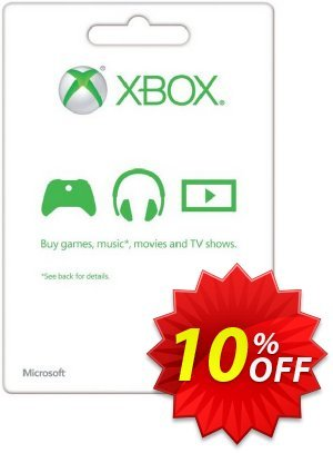 Microsoft Gift Card - £10 (Xbox One/360) discount coupon Microsoft Gift Card - £10 (Xbox One/360) Deal - Microsoft Gift Card - £10 (Xbox One/360) Exclusive offer for iVoicesoft