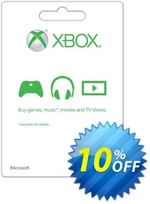 Microsoft Gift Card - £10 (Xbox One/360) Coupon discount Microsoft Gift Card - £10 (Xbox One/360) Deal - Microsoft Gift Card - £10 (Xbox One/360) Exclusive offer for iVoicesoft