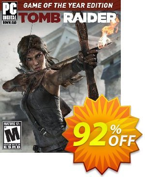 Tomb Raider Game of the Year PC Coupon, discount Tomb Raider Game of the Year PC Deal. Promotion: Tomb Raider Game of the Year PC Exclusive offer for iVoicesoft