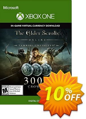 The Elder Scrolls Online Tamriel Unlimited 3000 Crowns Xbox One - Digital Code discount coupon The Elder Scrolls Online Tamriel Unlimited 3000 Crowns Xbox One - Digital Code Deal - The Elder Scrolls Online Tamriel Unlimited 3000 Crowns Xbox One - Digital Code Exclusive offer for iVoicesoft