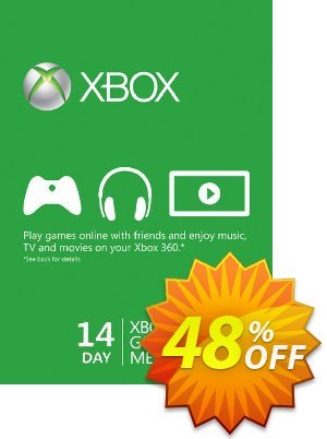 14 Day Xbox Live Gold Trial Membership (Xbox One/360) discount coupon 14 Day Xbox Live Gold Trial Membership (Xbox One/360) Deal - 14 Day Xbox Live Gold Trial Membership (Xbox One/360) Exclusive offer for iVoicesoft